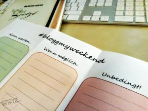 bloggmyweekend