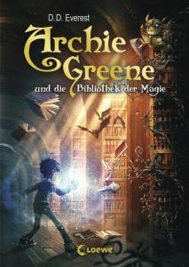 Archie-Greene-und-die-bibliothek-der-magie-D.D.-Everest-Loewe-Verlag-Cover