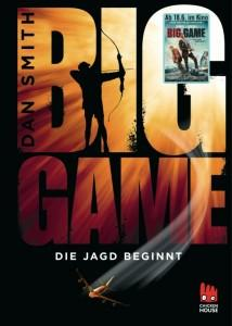BigGame-DieJagdbeginnt-DanSmith-ChickenHouseVerlag-Buchcover