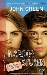MargosSpuren-Filmausgabe-JohnGreen-BuchzumFilm-dtv-Hanser-Cover