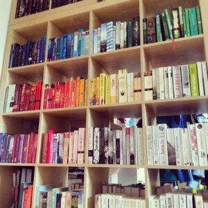 Bücherinventur-Taschenbuchseite