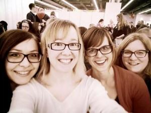 FrankfurterBuchmesse2015-LBLesertreff-Anja-Ramona-Brösel-Sandra-FBM