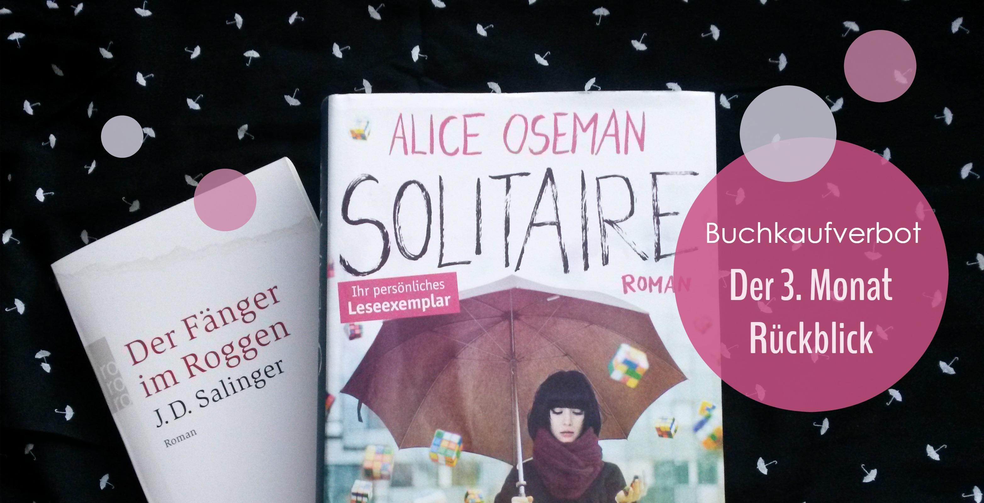 Solitaire-AliceOseman-dtvVerlag-Beitragsbild-Buchkaufverbot-KeineneuenBücherbisJahresende3