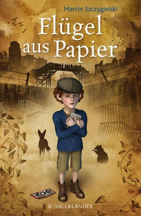 Flügel-aus-Papier-Marcin-Szczygielski-Fischer-Sauerländer-Cover