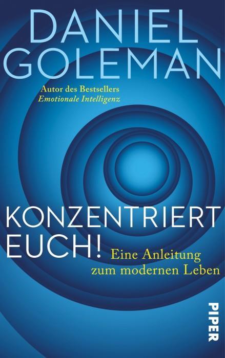 KonzentriertEuch-DanielGoleman-PiperVerlag-Cover