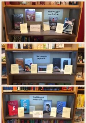 BuchhandlungSedlmair-Buchtipps-Collage-Leseschatz-Die-Rezensentin-092016