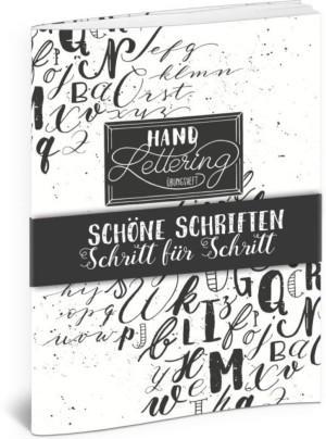Katja Haas Handlettering Übungsheft Cover Lingen Verlag