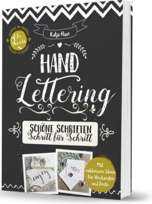 Katja Haas Handlettering Schöne Schriften Cover Lingen Verlag