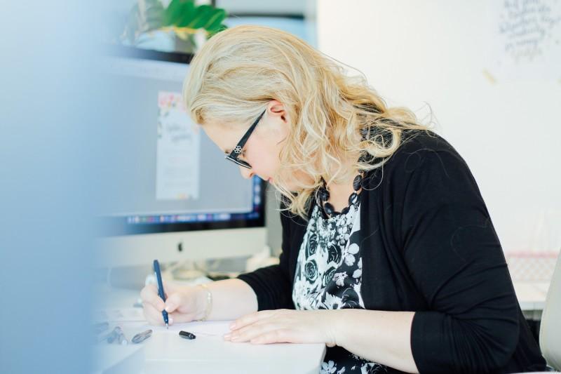Katja Haas Interview Handlettering verenavenetaphotography