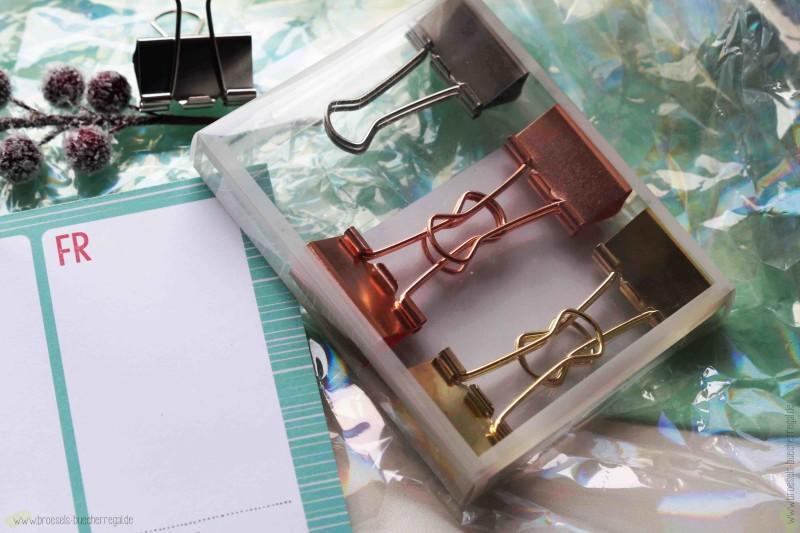 Geschenke Papierklemmen gold silber kupfer moses verlag