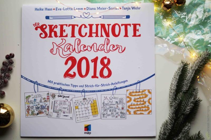 Geschenke Sketchnote Kalender 2018 Diana Meier-Soriat mitp Verlag