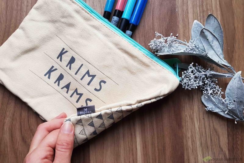 Geschenke Täschchen Krims Krams moses Verlag
