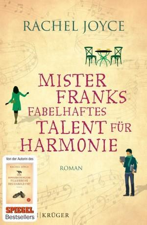 Mister Franks fabelhaftes Talent für Harmonie Rachel Joyce Cover
