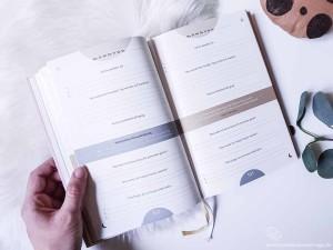 Das 6-Minuten Tagebuch Ansicht Tagesansicht
