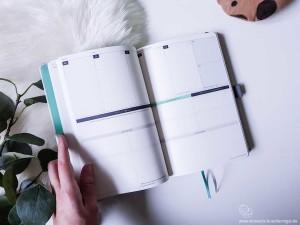 Klarheit Buch Kalenderteil Innenansicht