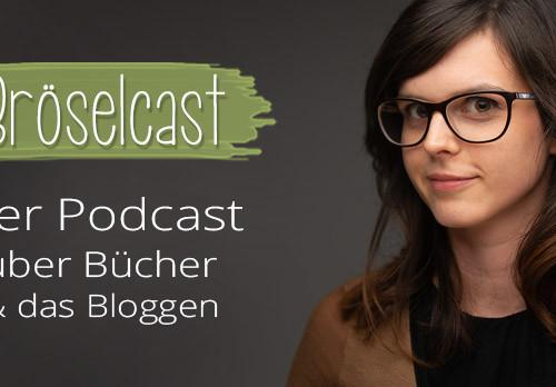 Bröselcast Podcast über Bücher und Bloggen Brösels Bücherregal