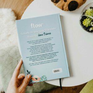 Klappentext Flow Mindful Money von Yvonne Adamek Rückseite Buch